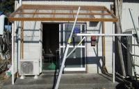 DIY13年11月30日13屋根居網板付完
