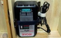 DIY14年1月26日5充電器収納部