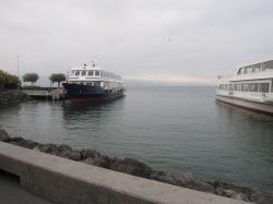 レマン湖の船