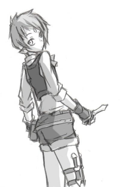 極小ナイフ。