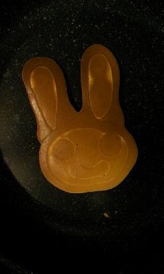 パンケーキ ウサギ