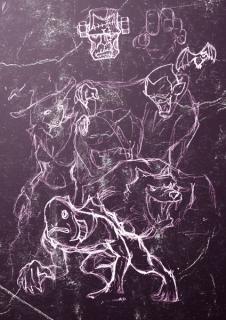 ハロウィン初期絵