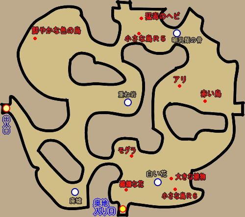 オーストラリア北西岸 生物マップ