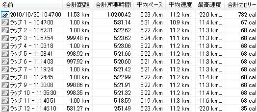 2010y10m30d_朝ラン