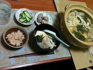 20101125-晩飯