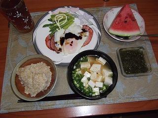 20110818-朝飯