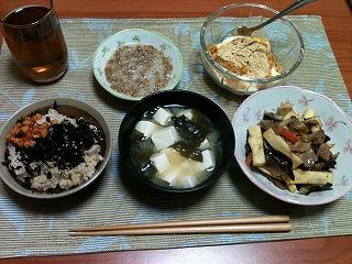 20101028-朝飯