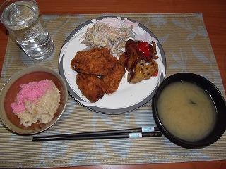 20111025-晩飯