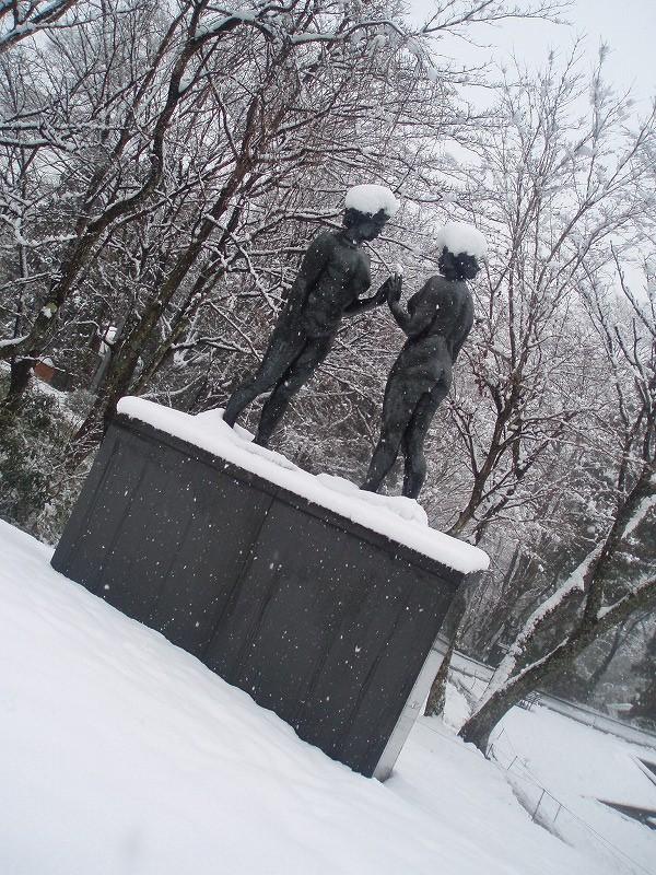 雪の中の約束