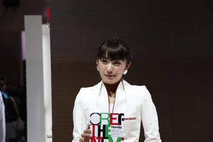 名古屋モーターショー2009 ホンダブースおねーさん