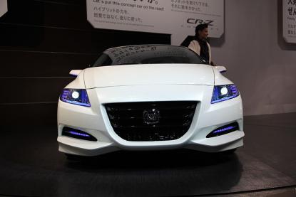 名古屋モーターショー2009 ホンダCR-Zコンセプト