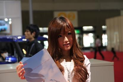名古屋モーターショー2009 ダイハツブースおねーさん