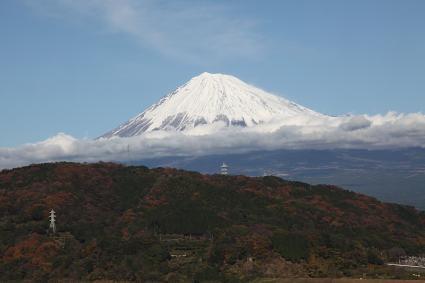 富士山 富士川SAにて