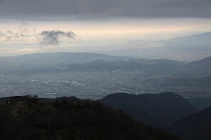 秦野、小田原の景色 新大日近くにて