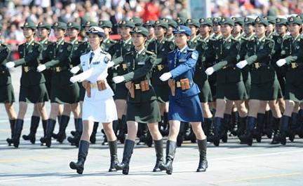 中国軍パレード