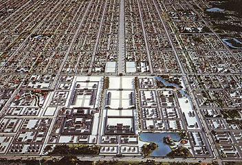 平城京復元模型