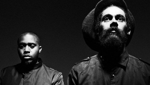 Nas  Damian Marley- Friends [CDQ]
