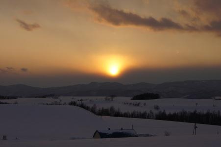 冬の富良野美瑛11