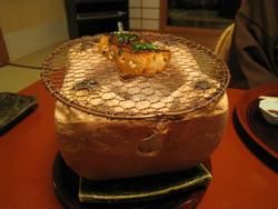 鱒木の芽焼