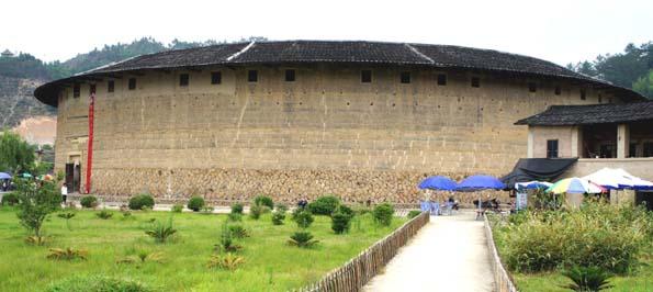 20110604 土楼 外壁DSC09934