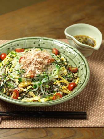 t納豆サラダ蕎麦3
