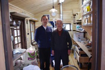 イノダさんと焙煎室
