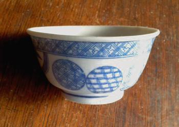 丸文煎茶碗