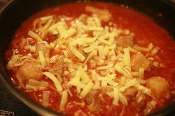 チキンのチーズトマト煮2