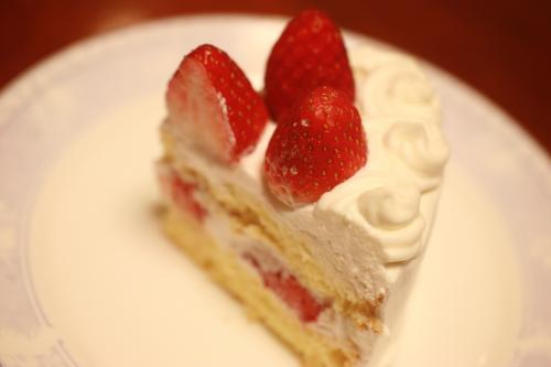 いちごのショートケーキ1