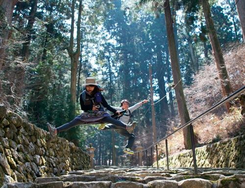 比叡山-ジャンプ