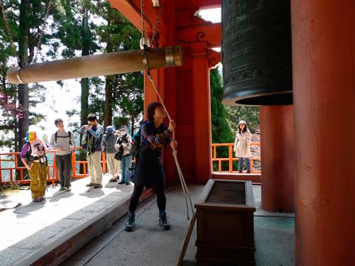 比叡山-開運の鐘