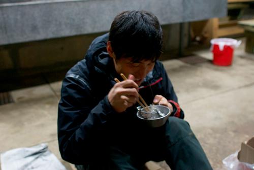 04-3金剛山晩ご飯
