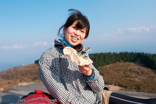 金剛山の焼き芋