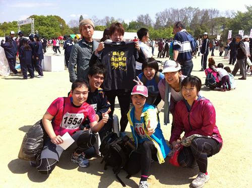 堺シティーマラソン集合写真