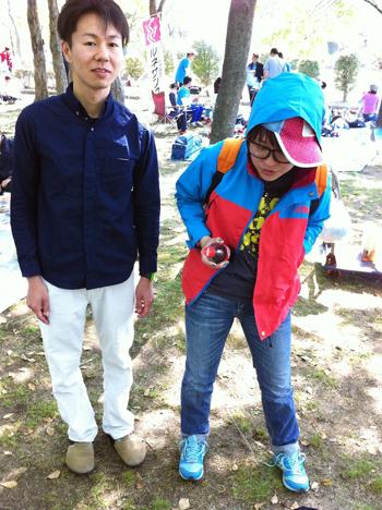堺シティーマラソンて#12441;の2人
