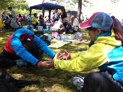 堺シティーマラソン準備体操