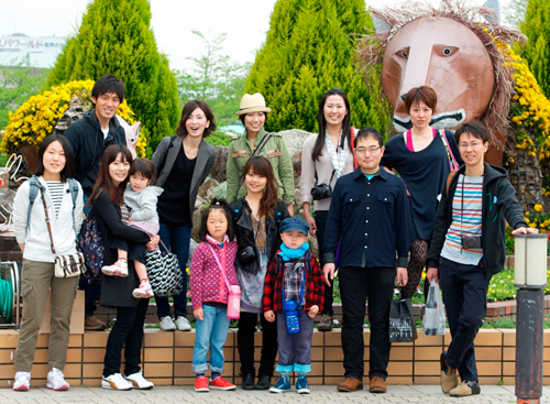 01動物園集合写真