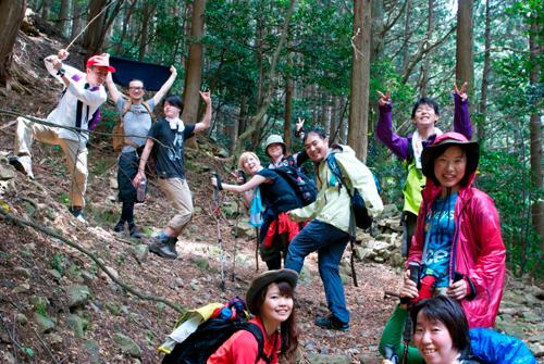 05蓬莱山登り
