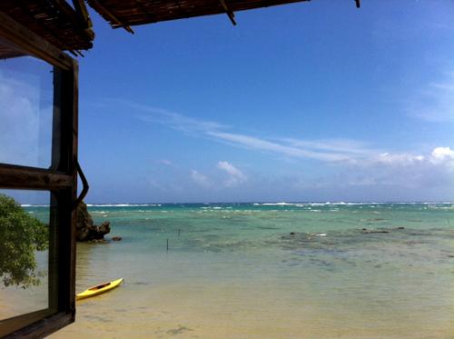 海辺の茶屋の風景2