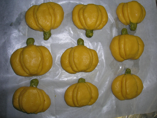 かぼちゃクッキー焼く前