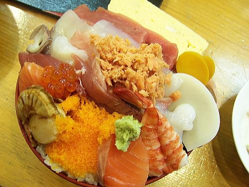 海鮮が大盛り丼2