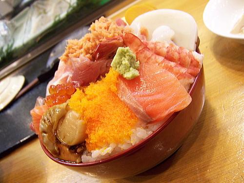 海鮮が大盛り丼3