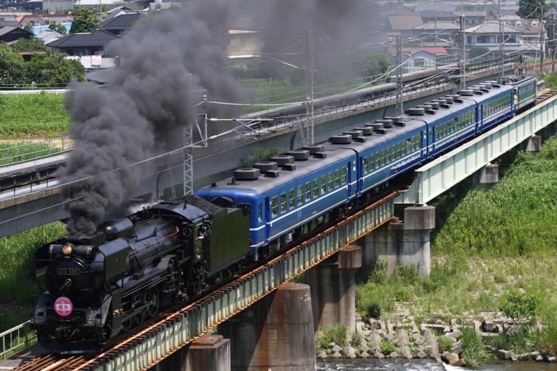 SL碓氷 安中鉄橋