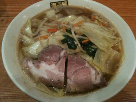 濃菜麺100428