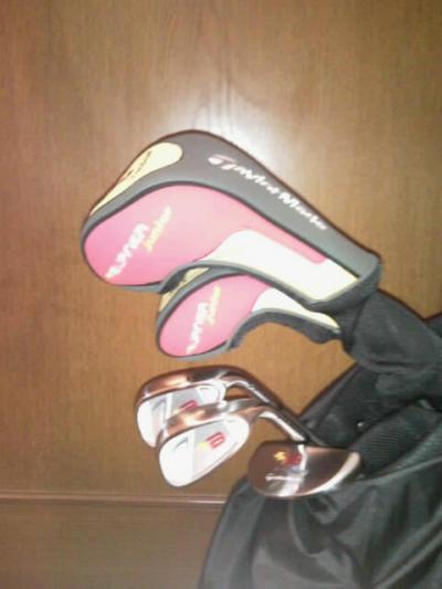 娘のゴルフセット2