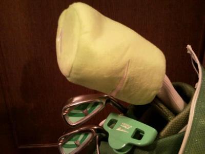 息子のゴルフセット2