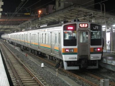 高崎線211系(上野)