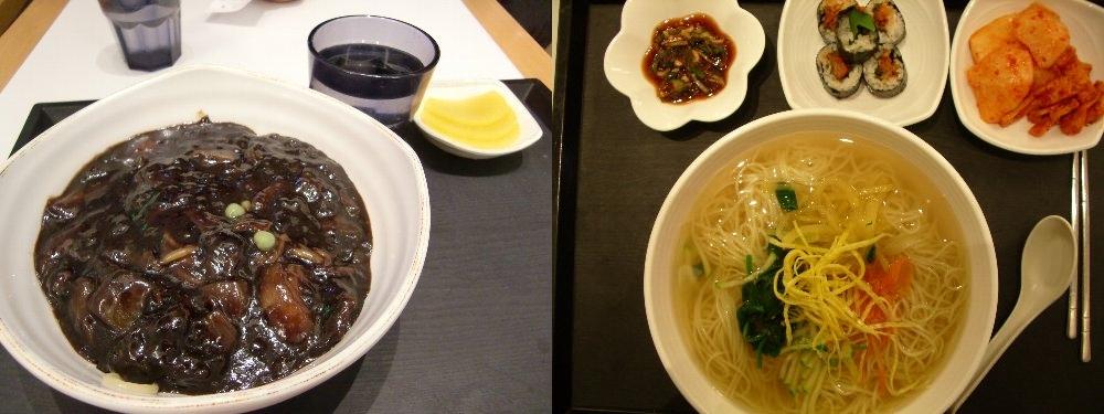 ジャジャ麺と冷麵