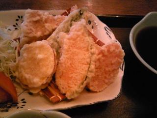 「日替定食 天ぷら」はし亭(福岡市)