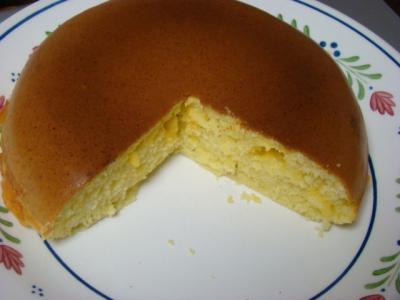 炊飯器でケーキ(チーズ味)